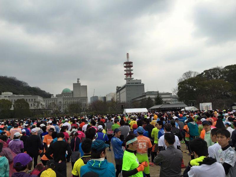 マラソンスタート風景