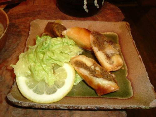 Fried venison