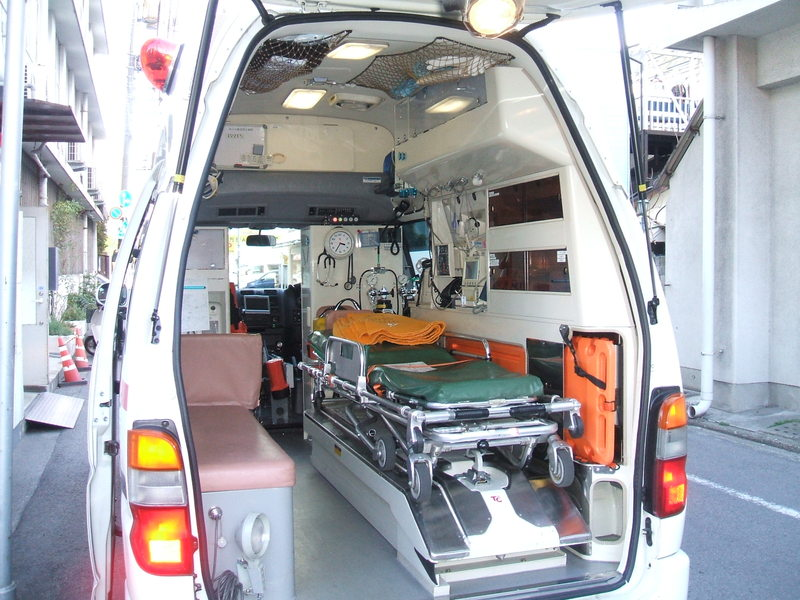Image result for ambulance japan inside